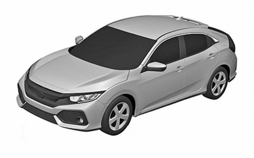 Серийная версия Honda Civic нового поколения
