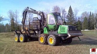 Ремонт генератора JOHN DEERE 1458 Wheel Forwarder