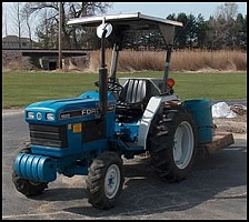 Ремонт генератора FORD CONSTRUCTION EQUIPMENT 1620 Compact Tractor