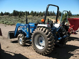 Ремонт генератора FORD CONSTRUCTION EQUIPMENT 1715 Compact Tractor