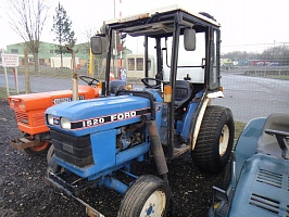 Ремонт генератора FORD CONSTRUCTION EQUIPMENT 1520 Compact Tractor