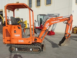 Ремонт генератора DOOSAN Solar 015 Plus  Mini Excavator