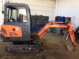 Ремонт генератора DOOSAN DX18 Mini Excavator